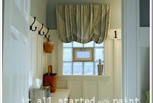 it started with MY DIY: BATHROOM / by Linda @ it all started with paint blog