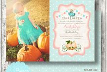 Pumpkin Princess Party / Inspired by Cindrella, this vintage Pumpkin Princess party was created for our daughter's 3rd birthday and featured on Kara's Party Ideas.  This board features a selection of photos from that party plus other great party finds to tie it all together! / by Bee and Daisy Party Studio