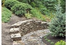 **RETAINING WALLS** / by Jodie