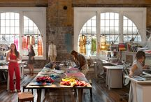 Office/Warehouse Design / by Karen Gamble (CiCi & Ryann Girls Clothing)