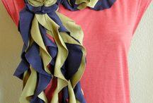 Crafty Clothing ideas / by Jennifer Baskin-Dietz