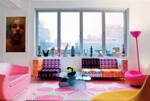 Colorful interior / by Karina Gv