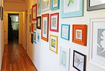 Abode - gallery walls / by Cydne Wright
