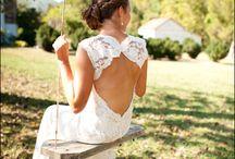 Keyhole Wedding Gowns / by Shine Wedding Invitations