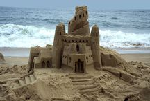 Sand Castles / Nothing is built on stone; all is built on sand, but we must build as if the sand were stone.  / by Diane Seltzer