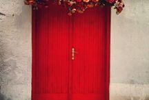 red doors / by Sarah Evridge