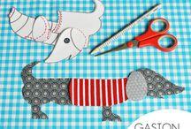 Kid's sewing / by Rebekah Brown
