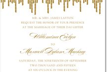 Invitations / by Stacey Lea