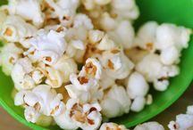 Food - Snacks Popcorn / by Kimberly Howard