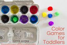 Toddler learning / by Lynette Benham