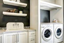 laundry room / by Ashley Verhagen
