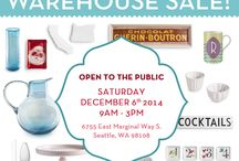 Events / Warehouse Sales, Events and More! / by Rosanna Inc.