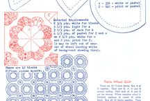 Quilt Blocks I would like to try / by Virginia Worden