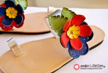 Handmade Greek Sandals / Only handmade......!!!  / by amalia's little store