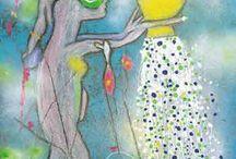 Cuadros, pinturas varias... / by Macarena Aninat