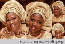 Nigerian Aso-oke Colours & Ideas / by Nigerian Wedding