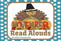 November Read Alouds / A collection of November read alouds for elementary teachers. {Veterans' Day, Thanksgiving}  / by Fern Smith