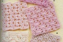 Crochet Stitch Patterns and Hints / by Pamela Stoll