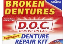 DENTURE PRODUCTS / by DISCOVER DENTISTS®