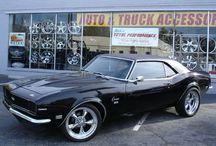 muscle cars / by Valerie Gabrione