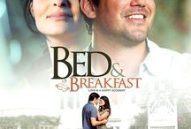 """Bed & Breakfast (Movie) / (Short Synopsis) """"In this charming romantic comedy, Jake inherits a small bed and breakfast in California wine country. Problem is, so did sultry Brazilian Ana. Her life is complicated… his is worse."""" (Starring) Dean Cain (ABC's Lois and Clark: The New Adventures of Superman), Juliana Paes, Eric Roberts (The Whole Truth, Westbrick Murders), John Savage (The Thin Red Line), Julia Duffy (Intolerable Cruelty), and Bill Engvall (Blue Collar Comedy Tour). / by Green Apple Entertainment"""
