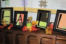 fall decor / by Loretta Stufflebeem