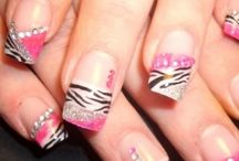 Fancy Huh!?  / Nail designs!  / by Nicole Armstrong