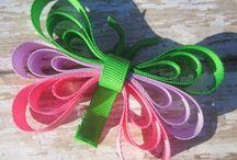 Ribbon sculpture bows / by Ericka Aguilar