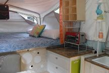 Tent Trailer Ideas / by Tammy Lindstrom