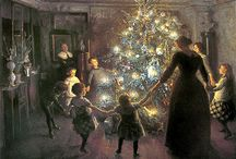 Vintage Christmas Cards / by Wayne Moore