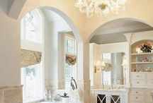Master bathrooms  / by Beth Bartemeyer
