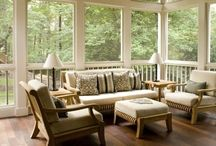 porch ideas / by Ann Marie Allison