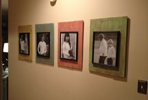 DIY picture/frames / by Teresa Clark
