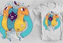 t-shirts / by Simone Rosignoli