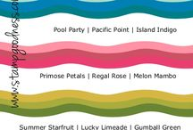 Paper Please - Colour Combos / by Kristy Cook