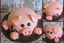 Cute decorated cakes / by Laura Nowlin Bryant