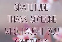 Gratitude / by Britt Reints