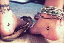 Tattoos+Piercings♥ / Ideas for when I decide to get a tattoo or piercing.  / by Amy Gantz