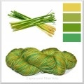 Hand Dyed Yarns I Lust For / Oh, how I adore hand dyed yarn.  These are all from indie dyers. / by Indigo Kitty Knits