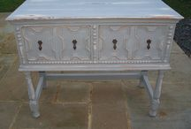 Shabby chic paint applications / by Pam Taylor