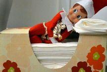 Elf on a shelf / by Janelle Wood-0'Grady