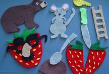 The Little Mouse, the Red Ripe Strawberry, and the Big Hungry Bear / by Tammy LeBouton