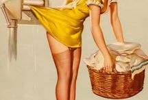 Pinup Girls / Who doesn't like pinup girls and vintage sexiness a golden era of sexuality ;) / by Amrit Pal Singh