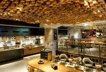 Cafe & Restaurant interiors / by Esther Huélamo