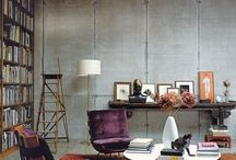 Unfinished basement Ideas / by Natalie P