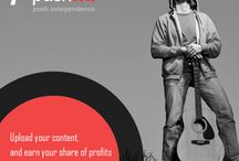 Connect and Discover / pushnd is an independent platform for all the #indie #artists out there / by pushnd.com