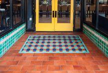 Fireclay Commercial Exterior Facades / by Fireclay Tile