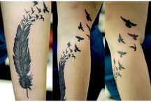 tattoos / by Kris Montoy