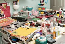 The One with Craft rooms & Organising / by Fransiska Orris-Beding