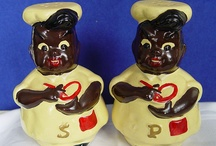 I collect salt and pepper shakers / by Gail Woods